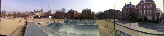 Miniramp at Museumplein