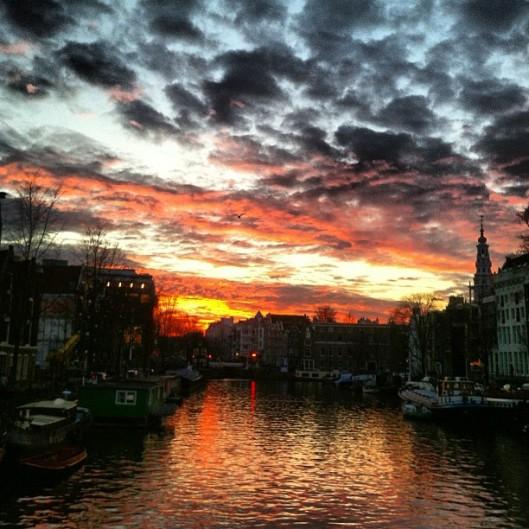 Oudeschans Sunset